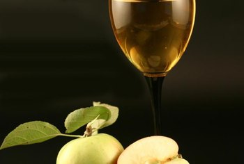 Apples and wine are rich sources of pyruvate.