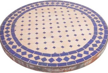 Tile a small or a large table as your next weekend project.