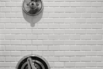 Wall tiles in a shower define the space for style and functionality.