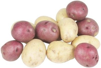 All types of potatoes prefer acidic soil, high in organic matter.