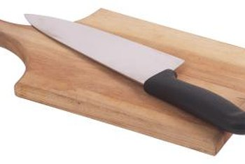 Sealing your butcher block with oil prevents mold-causing moisture from penetrating the wood.