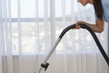 vacuum sheer panels regularly to keep them clean - Sheer Drapes