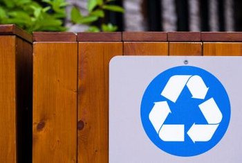 Reducing, reusing and recycling minimize the amount of waste people generate.