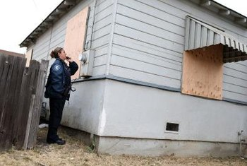 Tax lien properties could suffer from poor upkeep.