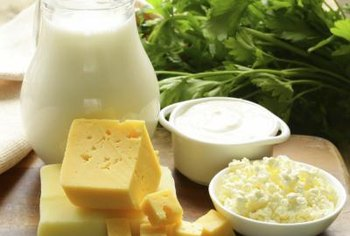 Full-fat dairy foods contain more saturated fat than low-fat versions.