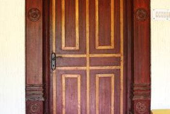 Many older homes have wooden doorsills.