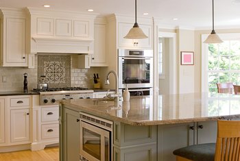 The standard overhang of a kitchen countertop home for Granite overhang without support