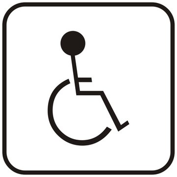 The ADA gives guidelines for accessibility.