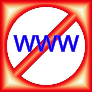 Internet filtering in schools can block unintended websites.