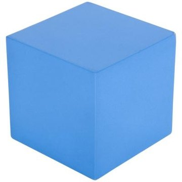A cube is just one of the 3D shapes that can be introduced to first-graders.
