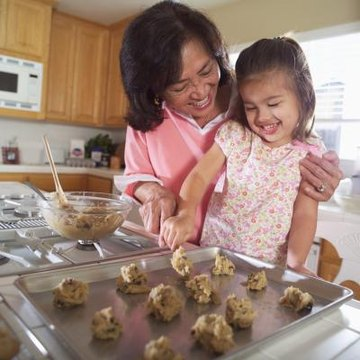 Family recipes may connect children to their heritage.