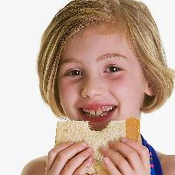 Foods high in calories and protein can help your child gain weight.