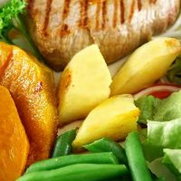 Food, such as meats and vegetables, can help provide all the potassium a person needs each day.
