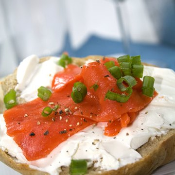 Low-fat cream cheese is a healthier option than regular.