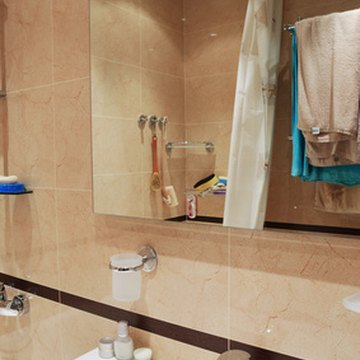 An inexpensive bathroom remodeling project can produce noticeable results.
