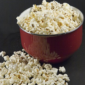 Season your popcorn with your favorite spices from your spice rack.