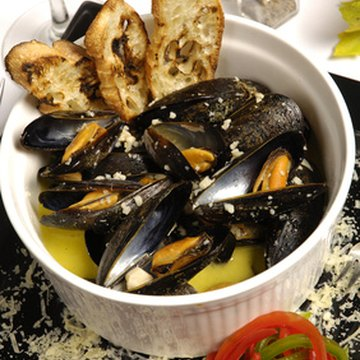 Mussels are a good source of vitamins and minerals.