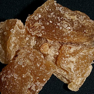Crystallized ginger contains high amounts of sugar.
