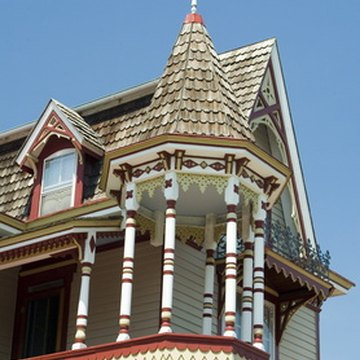 Victorian homes come in all shapes and sizes.