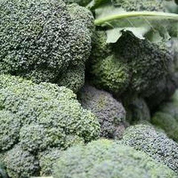 Broccoli is a cruciferous vegetable that contains cancer-fighting compounds.