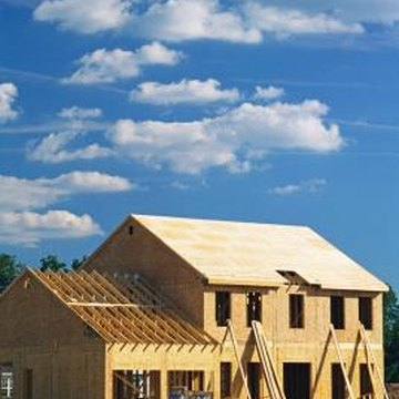 Roof sheathing is typically about 1/2 inch thick.