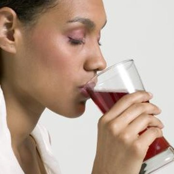 Cranberry juice contains more vitamin K, but less vitamin A than tart cherry juice.