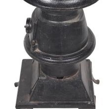 Rejuvenate an old cast iron stove for modern day appeal.