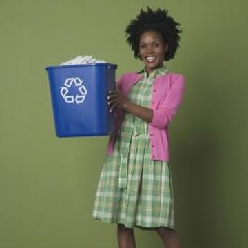 Recycling is the younger generation's version of taking out the trash --- look for ways to make this weekly chore fun and rewarding.