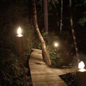 How to design install an exterior landscape lighting - How to install exterior lighting ...