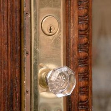 Look for antique and vintage doorknobs online.