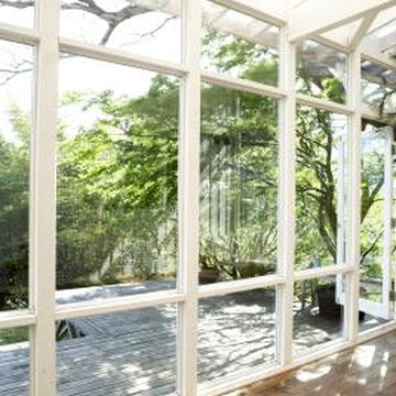 Sunroom furnishings should complement the view, not compete with it.