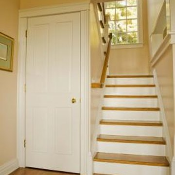 Imagine a half bath or a coat closet under the stairs.