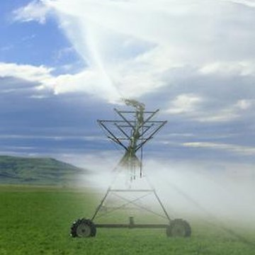 Planting With Pivot Irrigation Home Guides Sf Gate