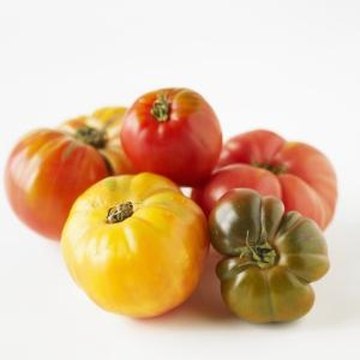 Heirloom tomato varieties like the German pink are prized for an exceptional flavor and other characteristics.