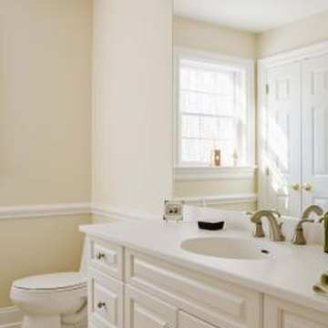 how to prepare bathroom ceiling walls for paint home guides sf gate. Black Bedroom Furniture Sets. Home Design Ideas