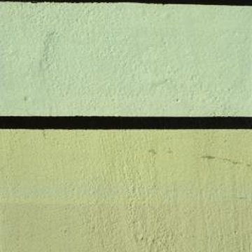Painting perfectly straight lines on a textured wall is possible.