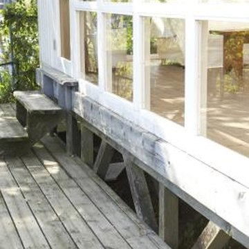 Keep your deck looking new with proper care.