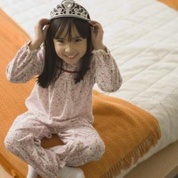 With a Rapunzel-theme bedroom, your child can feel just like a princess.