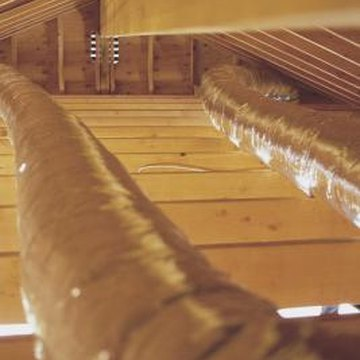 Soffit vents are an important part of a passive attic ventilation system.