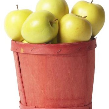 Golden delicious apple trees are a hearty breed, requiring little maintenance.