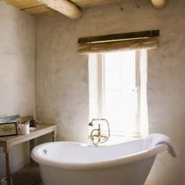 Refinishing a tub can bring new life to a bathroom.