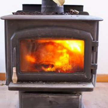 An efficient wood stove does not smoke.