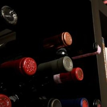 Make space for your wine collection in an unused closet.