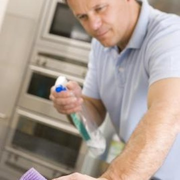 Epoxy and resin countertops should be cleaned using only mild detergents.
