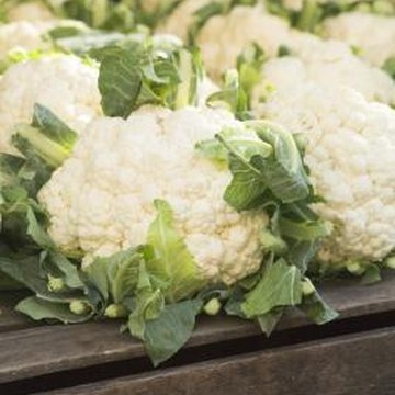 Cauliflower is a low-carb food.