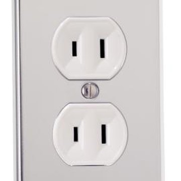 Replacing a light fixture with a receptacle provides a convenient outlet for ceiling-mounted devices.