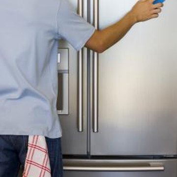 Keep your refrigerator clean inside and out to extend its working life.