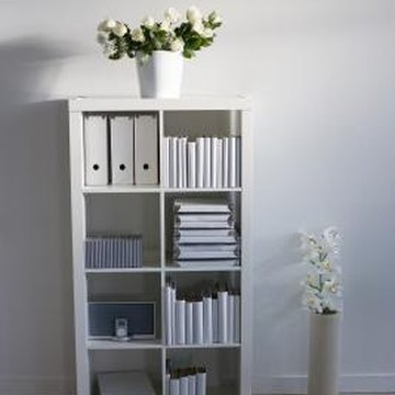 Add culture to your home with a bookcase.