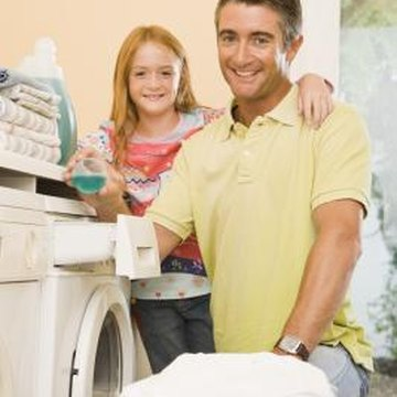 Laundry rooms in older houses are common sources of floor vibration.