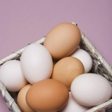 Be careful when crushing eggshells, as they have jagged edges.